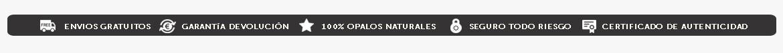 OPALOS · Envíos Gratis, Seguro a Todo Riesgo, Garantía Devolución y Certificado de Autenticidad: