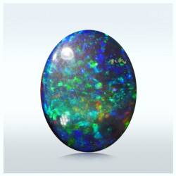 1.95 ct Opal Pin Fire Blue