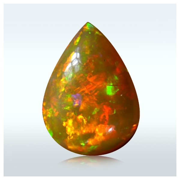 1.05 Crt. Ribbon Dark Base Opal