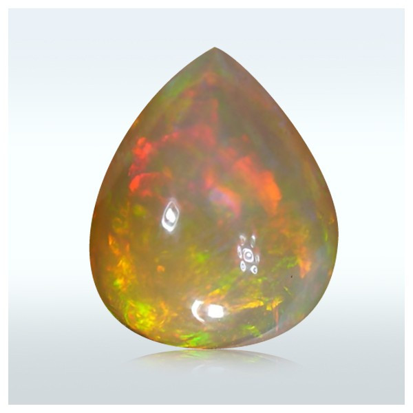 2.95 Crt. Brilliant Rainbow Patchwork Opal