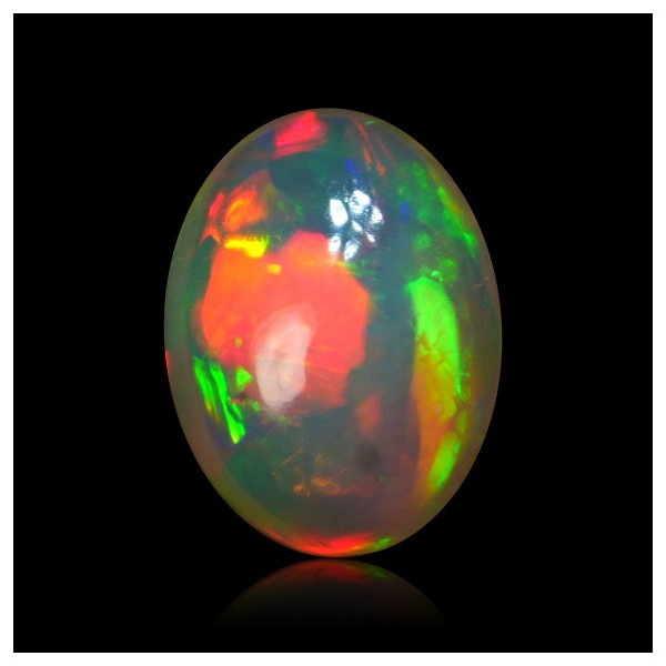 3 Ctr. Gorgeous Very Lightning Neon Puzzle Opal