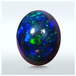 1.35 Qts. Peacock Full Color Opal