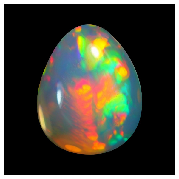 2.5 Ct. Micro Cell Rainbow Opal Multicolor