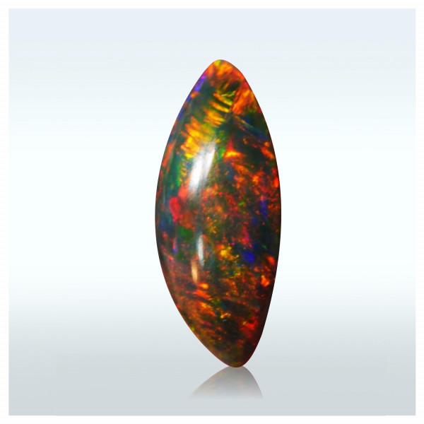 2.40 Ctr. Opalo Cintas de Fuego Brillante Juego Color