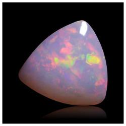 2.3 cts Opalo Brillante Metalico Fuego Colores