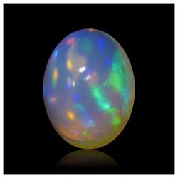1.35 ct Opalo Cristalino Azul Multicolor