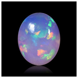 2,00 cts Opalo Cristal Brillante Holograma Multicolor